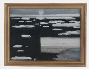 Juliusz NARZYŃSKI (ur. 1934), Pejzaż z północy, 2015