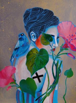 Marcin Painta, Ona i kwiaty 2, 2017