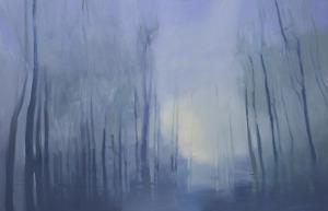 Agata Ruman, Studium leśnego światła, 2016
