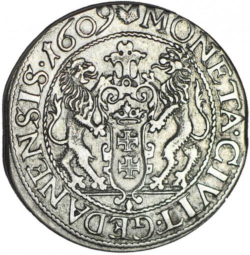 R-, Zygmunt III Waza, Ort 1609 Gdańsk, R3