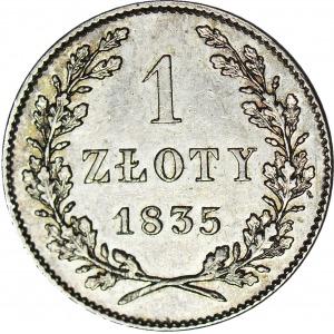 Wolne Miasto Kraków, 1 złoty 1835, R2