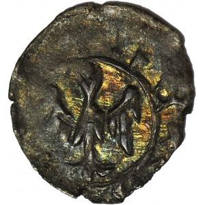 Kazimierz Wielki 1333-1370, Denar, Głowa w koronie