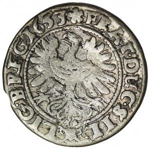 Księstwo Legnicko-Brzesko-Wołowskie, 3 krajcary 1653, Brzeg