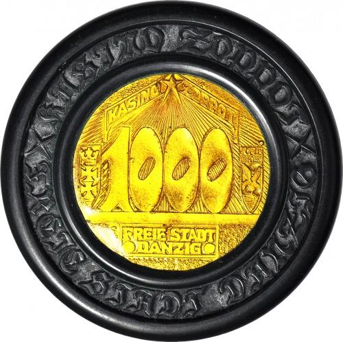 Wolne Miast Gdańsk, Kasyno Sopot, 1000 Guldenów