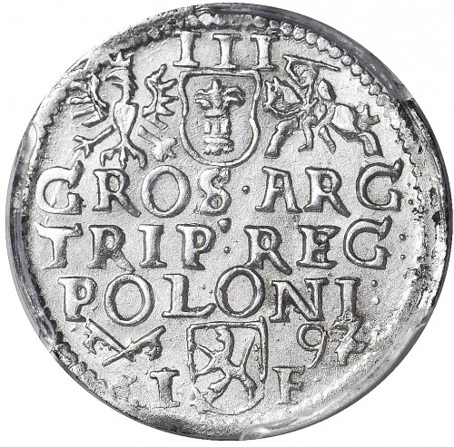 Zygmunt III Waza, Trojak 1592 Poznań