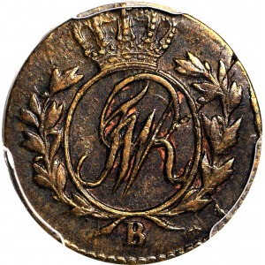 Zabór, Prusy Południowe, 1/2 grosza 1797 B, Wrocław