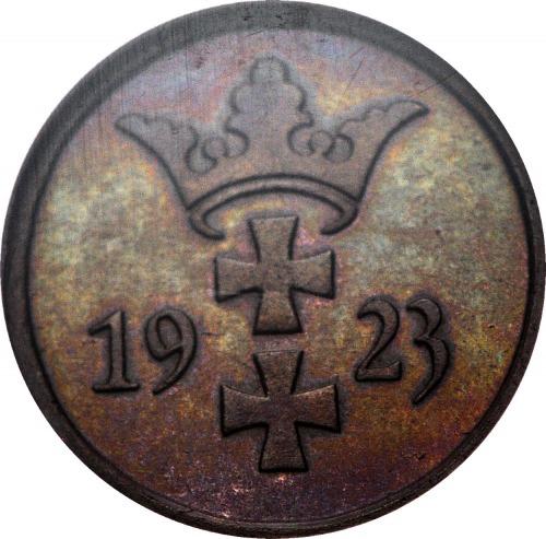 R-, KOLEKCJA LUSTRZANEK WMG, 2 fenigi 1923
