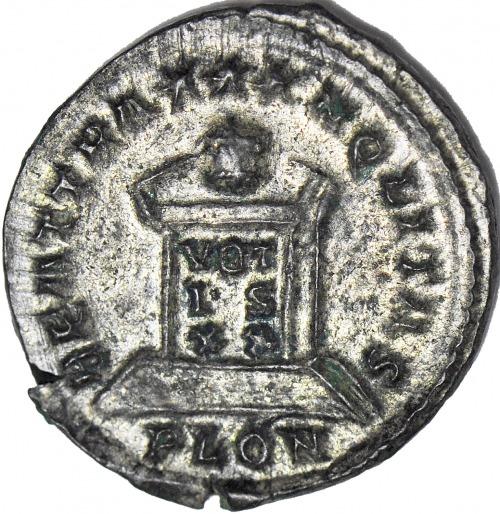 Kryspus 305-326, Follis, Londyn