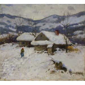 Edmund Cieczkiewicz (1872-1958), Zima w górach