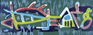 Roman Sielski (1903-1990), Zambrowska abstrakcja