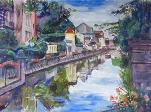 Teresa Wallis – Joniak (Ur. 1926R.), Nad rzeką (Dole), 2015