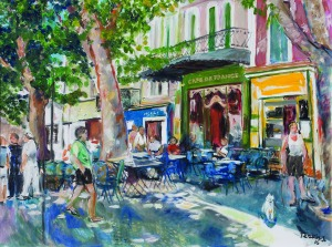 Teresa Wallis – Joniak (Ur. 1926R.), Cafe de France, 2016