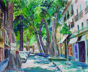 Teresa Wallis – Joniak (Ur. 1926R.), Francuskie miasteczko, 2016