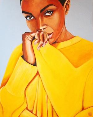 Renata Magda, Yellow reflection, 2017
