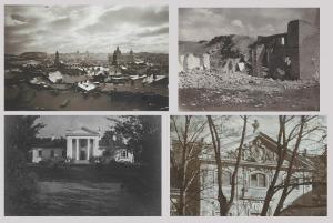 Jan BUŁHAK (1876-1950), Wilno - zestaw 4 fotografii