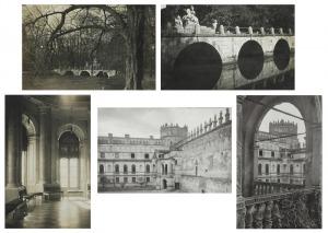 Jan BUŁHAK (1876-1950), Warszawa - 5 fotografii