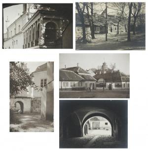 Jan BUŁHAK (1876-1950), Wilno - zestaw 5 fotografii