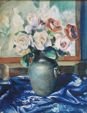 Teodor GROTT (1884-1972), Róże