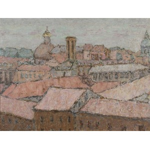 Ałła LASKOWSKA (1920-2000), Dachy miasta