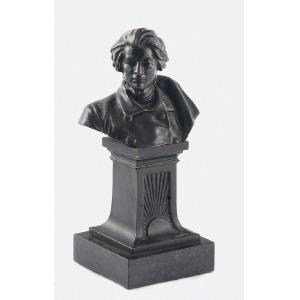 Cyprian GODEBSKI (1835-1909) - według, Popiersie Adama Mickiewicza