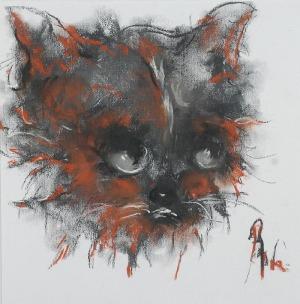 Bożena WAHL (ur. 1932), Kot