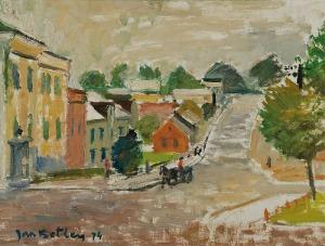 Jan BETLEY (1908-1980), Miasteczko, 1974