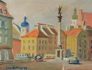 Jan BETLEY (1908-1980), Kolumna Zygmunta, 1977