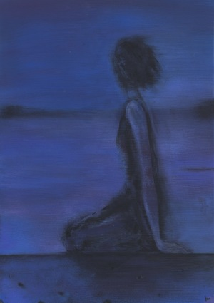 Justyna Neyman, Kind of blue, 2017