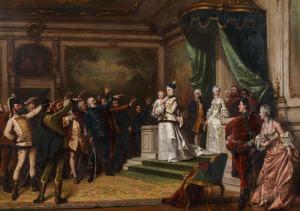 Władysław BAKAŁOWICZ, WĘGIERSKA SZLACHTA PRZYSIĘGA WIERNOŚĆ MARII TERESIE I JEJ SYNOWI JÓZEFOWI W 1740 R.