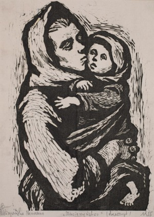Maria HISZPAŃSKA-NEUMANN, MACIERZYŃSTWO, 1955