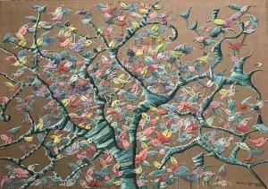 Magdalena Rytel-Skorek, (Ur. 1976), Z cyklu Drzewo 350, 2017