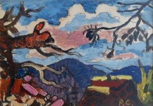 Roman Sielski (1903-1990), Pejzaż