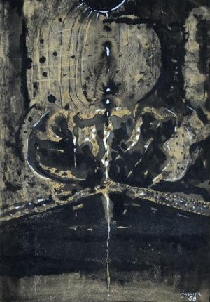 Zbigniew Jaskierski (1928-1969), Abstrakcja