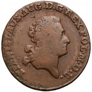 Poniatowski, Trojak 1785 E.B.