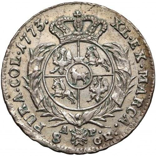 Poniatowski, Dwuzłotówka 1773 A.P. - rzadka