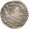 Zygmunt III Waza, Trojak Bydgoszcz 1596 - P przeprawione na R