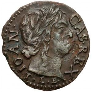 Jan II Kazimierz, Boratynka 1660, Ujazdów - duża głowa