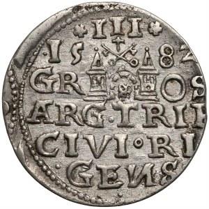 Stefan Batory, Trojak Ryga 1582