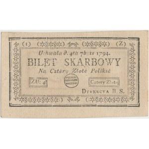 4 złote 1794 - (1)(Z)