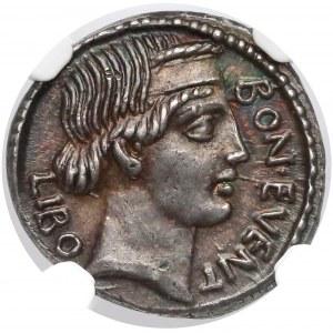 Roman Republic, L. Scribonius Libo Denarius (62 BC)