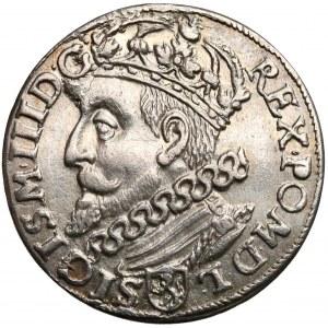 Zygmunt III Waza, Trojak Kraków 1601 - głowa w lewo
