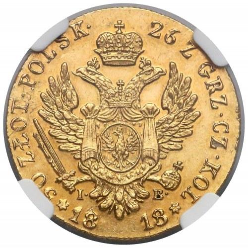 50 polish zloty 1818