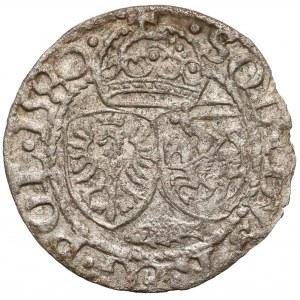 Stefan Batory, Szeląg Olkusz 1580 - HERB Batorych, Glaubicz - rzadkość
