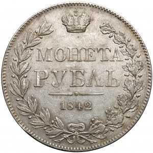 Rouble Warsaw 1842 MW