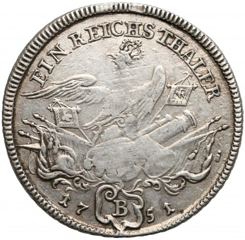 Niemcy, Prusy, Fryderyk II, Talar Wrocław 1751 B