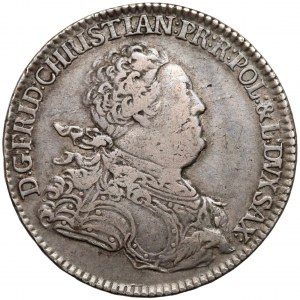 Saksonia, Fryderyk Chrystian, 2/3 talara Drezno 1763