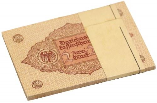 Germany, Bank BUNDLE 2 Mark 1920