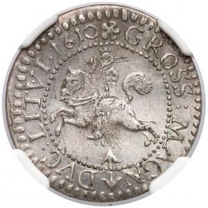 Zygmunt III Waza, Grosz Wilno 1610