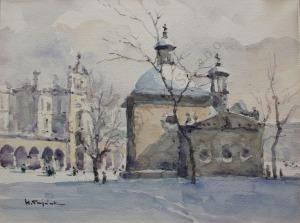 Henryk Sajdak (1905-1995), Kościół św. Wojciecha w Krakowie