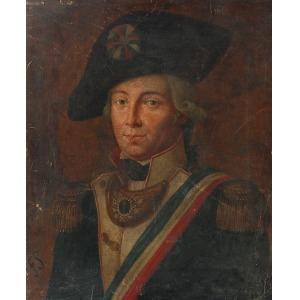 Feliks SYPNIEWSKI (1830-1902), Portret mężczyzny w mundurze